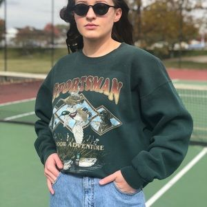 Vintage sportsman's sweatshirt
